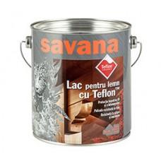LAC pentru lemn, pentru exterior si interior, CU TEFLON Savana 0,75L