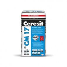 Adeziv placari ceramice Ceresit CM17 Super-flexibil 25kg, pentru interior-exterior