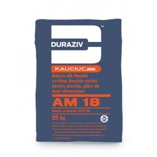 Adeziv Duraziv AM18 25kg, alb, flexibil, pentru interior/exterior